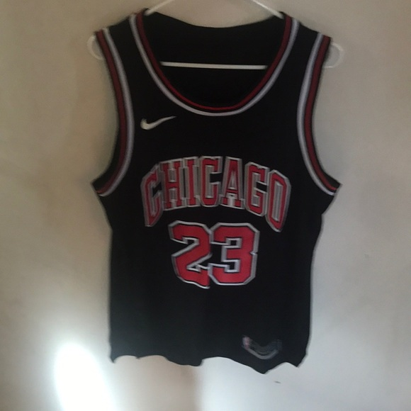 new products 8e943 fec79 Stitched Black and red Jordan jersey
